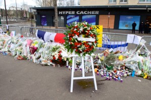 Memorial for Paris victims