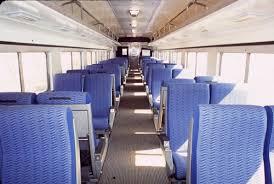 inside train