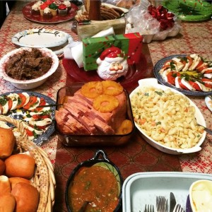 The great Christmas feast!